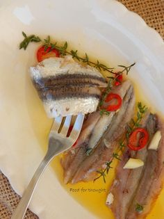 Food for thought Healthy Menu, Healthy Recipes, Greek Dishes, Homemade Spices, Greek Recipes, Fish And Seafood, Food For Thought, Finger Foods, Food To Make
