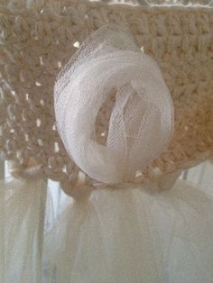 making tulle flower girl dresses  @Jennie Flanagan Jacobson