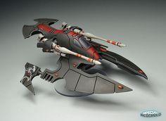 40K - Forge World Eldar Corsair Hornet by Dan Burt