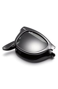48f25715c4 Ray-ban Folding Wayfarer Sunglasses Folding Sunglasses