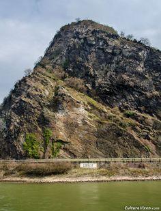Loreley Rock, #Bacharach, #Germany.