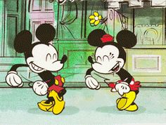 Find GIFs with the latest and newest hashtags! Search, discover and share your favorite Mickey Mouse GIFs. The best GIFs are on GIPHY. Mickey Mouse Shorts, Baby Mickey Mouse, Mickey Mouse And Friends, Baby Disney, Disney Art, Mickey Love, Mikey Mouse, Gifs, Classic Cartoons