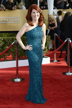 Kate Flannery 2013 Screen Actors Guild Awards Red Carpet