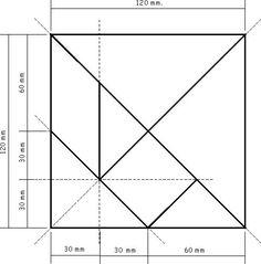 El tangram... orientación en el espacio - matematicascercanas Projects For Kids, Diy For Kids, Crafts For Kids, Wooden Baby Toys, Wood Toys, Tangram Puzzles, Shapes Worksheets, Wood Games, Petite Section