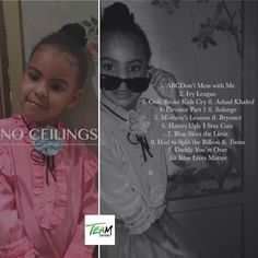 #BlueIvy dropping her album #NoCeilings ! Go out and cop it !