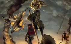 Youjo Senki, anime girl wallpaper