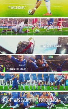 The best day of my life Chelsea Soccer, Fc Chelsea, Blue Flag, Day Of My Life, Football Soccer, Affair, Revolution, Royal Blue, First Love