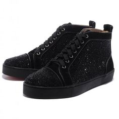 Buy Christian Louboutin Men Glitter Nubuck High Top Sneakers Black For Sale from Reliable Christian Louboutin Men Glitter Nubuck High Top Sneakers Black For Sale suppliers.Find Quality Christian Louboutin Men Glitter Nubuck High Top Sneakers B Louboutin High Heels, Red Louboutin, Red High Heels, Cheap Louboutins, Fashion Heels, Sneakers Fashion, Paris Fashion, Runway Fashion, High Top Sneakers