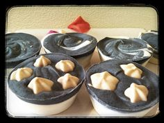 natural soap with charcoal