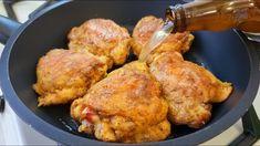 Duck Recipes, Chicken Recipes, Tandoori Chicken, Best Chicken Ever, Chicken Plating, Chicken Thighs, Ethnic Recipes, Entrees, Food To Make