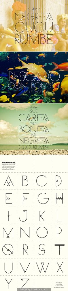 Cucurumbé  from TypographyServed.com