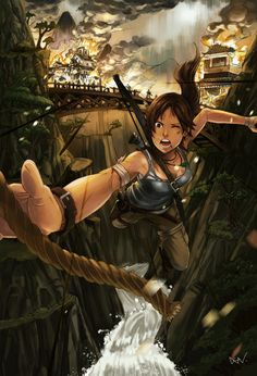 Tomb Raider - Lara Croft fanart