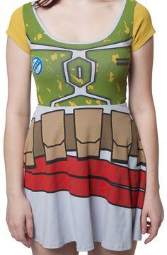 Boba Fett Skater Dress