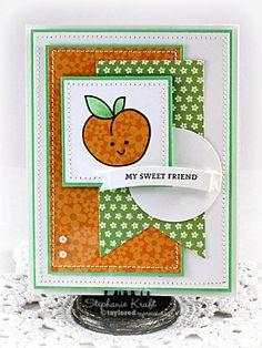 My Sweet Friend Card By Stephanie Kraft #Cardmaking, #Friendship