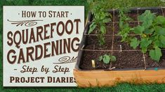 ★ How to: Start Square Foot Gardening (A Complete Step by Step Guide) Looking Out My Backdoor, Project Steps, Hydrangea Care, Soil Improvement, Garden Tool Set, Potager Garden, Garden Planner, Square Foot Gardening, Pink Garden