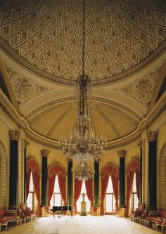 Music Room Buckingham Palace.   um...can this be our music room please???