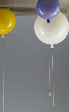 Balloon ceiling lights