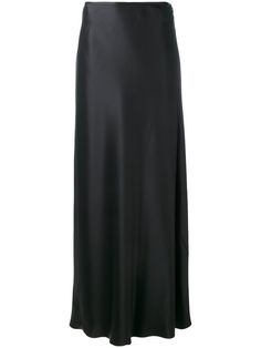 JIL SANDER Flared Hem Maxi Skirt. #jilsander #cloth #skirt