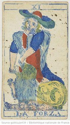 [Jeu de tarot piemontais] : [jeu de cartes, estampe] Éditeur : F. F. Solesio (Genova) Date d'édition : 1865 Sujet : Tarot (jeu) Type : image fixe,estampe Langue :zxx Format : 1 jeu de 78 cartes : gravure sur bois coloriée au pochoir ; 11,6 x 6,5 cm Format : image/jpeg Droits : domaine public Identifiant : ark:/12148/btv1b10513772t