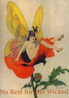 anorpheusrising:  hoodoothatvoodoo:Postcard by William Barribal 1935