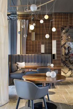 2014 Australian Interior Design Awards winners announced gallery - Vogue Living Modern Restaurant, Restaurant Design, Deco Restaurant, Vintage Restaurant, Restaurant Lighting, Restaurant Lounge, Australian Interior Design, Interior Design Awards, Modern Interior Design