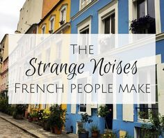 The strange noises f