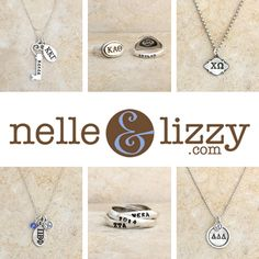 ✿❀ welcome NEW sorority sugar affiliate partner NELLE & LIZZY!!! ✿❀ shop nelle & lizzy for the prettiest sorority jewelry for big/littles, new members, initiation & just because! they offer adorable custom greek necklaces, rings and charms. check out their personalized jewelry too! xoxo ✿❀ CLICK on the nelle & lizzy AD at: http://www.sororitysugar.tumblr.com