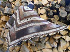Pletený šátek - V barvách země...   Zboží prodejce HanulkaČ c81ddd0c90