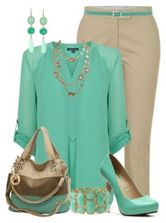 """""""Minty Tunic"""" by maggie478 ❤ liked on Polyvore featuring Joseph, Warehouse, Michael Antonio, Forever 21, Silvian Heach, Irene Neuwirth and Chanel"""