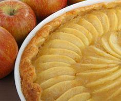 Tartaleta fina de manzana