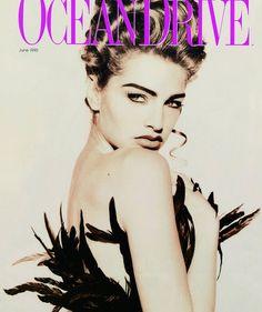 Beauty And Fashion Michaela Bercu, Ocean Drive, Steven Meisel, Trophy Wife, Beautiful Celebrities, Movie Posters, Image, Beauty, Celebrity Women