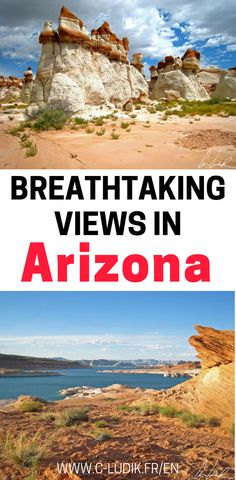 There are so many beautiful viewpoints in Arizona. We will share some of our favorite scenic views in Arizona including Lake Powell, the Grand Canyon, Blue Canyon, and much more. Make sure you check out these beautiful hikes in Arizona before you plan your trip and save them to your travel board so you can find them later.