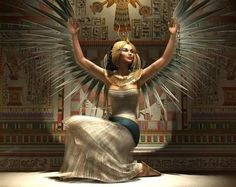 Queen Isis - I am Nature, the Universal Mother, Mistress of the Elements, primordial child of time, Sovereign of all things spiritual, Queen of the dead, Queen, also of the immortal, the single manifestation of all gods that are- call me by my true name : QUEEN ISIS...