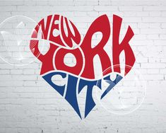 Excited to share the latest addition to my #etsy shop: Digital New York City Word Art, New York City jpg, png, eps, svg, dxf, New York City logo design, New York City NYC word in heart shape http://etsy.me/2HPagGr #supplies #blue #kidscrafts #red #newyorkcityjpg #newyo