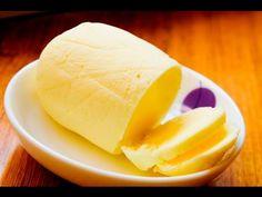 Как сделать домашнее сливочное масло / рецепт сливочного масла в домашних условиях / - YouTube