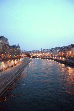 Seine River, Paris France