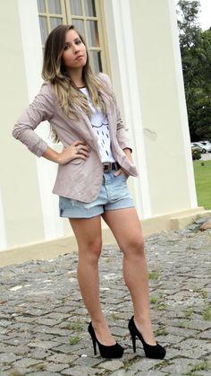 look blazer com bermudinha feminino - Pesquisa Google