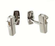 A custom cufflinks order we made out of Sterling Silver. Perfect for watercooler…