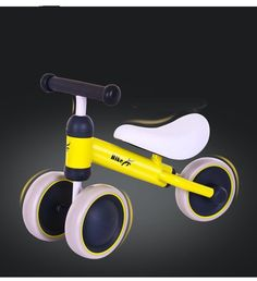 39.42$  Watch now - http://aliujl.shopchina.info/1/go.php?t=32805290417 - Brand Children Balance Bikes Scooter Baby Walker Infant Scooter No Foot Pedal Driving Bike Gift for Infant three wheel  #buymethat