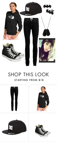 """SBS EP2"" by mybloodyvalentine13 ❤ liked on Polyvore featuring SELECTED, The North Face, DC Shoes and Converse"