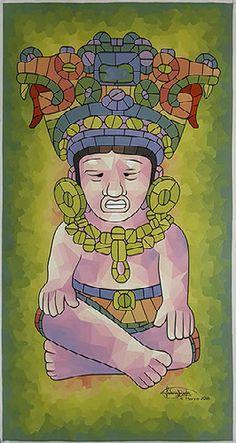 Mosaic, Idol, Joker, Princess Zelda, Painting, Fictional Characters, Art, Art Background, Mosaics