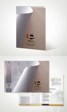 Parla Consulting -   Ingeniería, Diseño y Documentación.  Díptico  - www.versal.net • Diseño Gráfico • Identidad Visual Corporativa • Publicidad • Diseño Páginas Web • Ilustración • Graphic Design • Corporate Identity • Advertising • Web Pages • Illustration • Logo