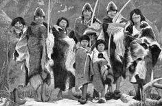 Indians- Tierra del Fuego, Argentina