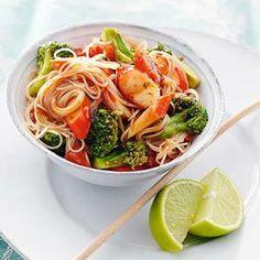Recept - Mihoen met surimi en broccoli - Allerhande