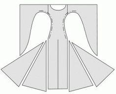 Medieval dress pattern