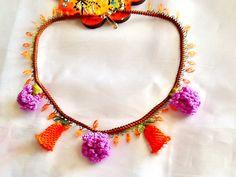 SALEGYPSY CHOKER  Lace necklace crochet necklace by Nezihe1