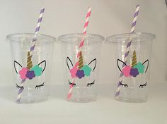 Unicorn Party Cups, Unicorn eyelash party, unicorn birthday party, Unicorn Baby Shower is part of children Party Unicorn - unicornpartyfavorcupsunicorn ga search query rainbow&ref shop items search 1 Unicorn Birthday Parties, 10th Birthday, First Birthday Parties, Birthday Party Decorations, First Birthdays, Party Favors, Birthday Ideas, Baby Birthday, Baby Shower Unicornio