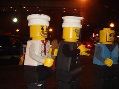 LEGO Costume - Chef, Cop, & Robber Minifigure