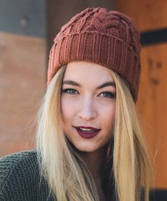 Look what I found on #zulily! Camel Cable-Knit Beanie #zulilyfinds
