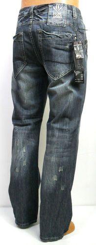 56c51678 Men's STONE TOUCH straight leg blue jeans size 32 34 36 38 40 42 44 x